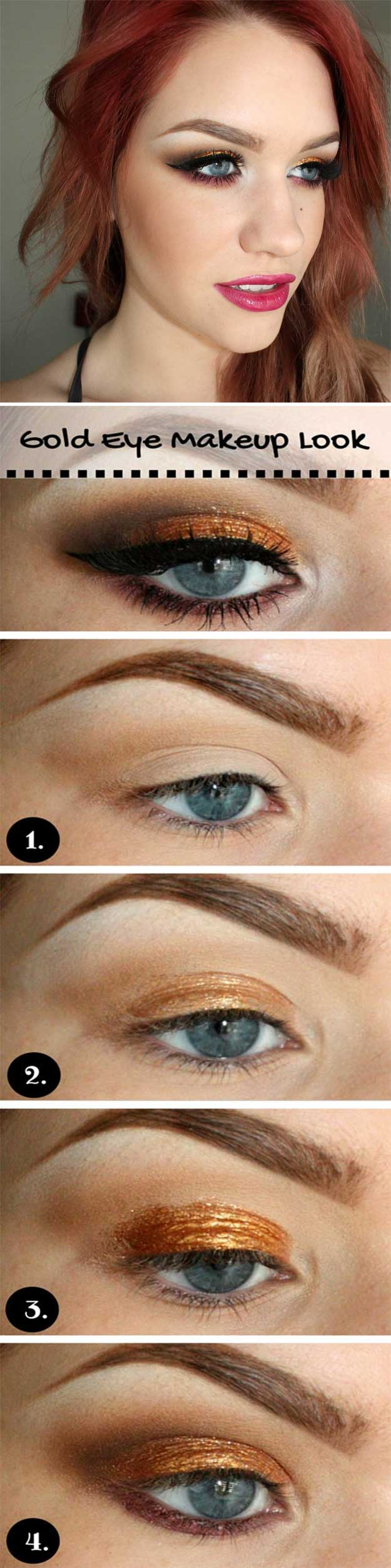 Eye Makeup For Brown Eyes And Red Hair